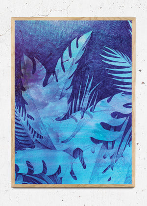 Blue Jungle Scene fra Morten Løfberg