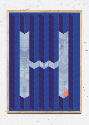 H for Hamide: Patchwork 1 fra Hamide Design Studio