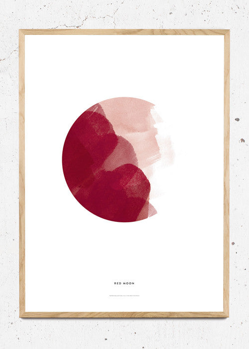 Red Moon fra Paper Collective