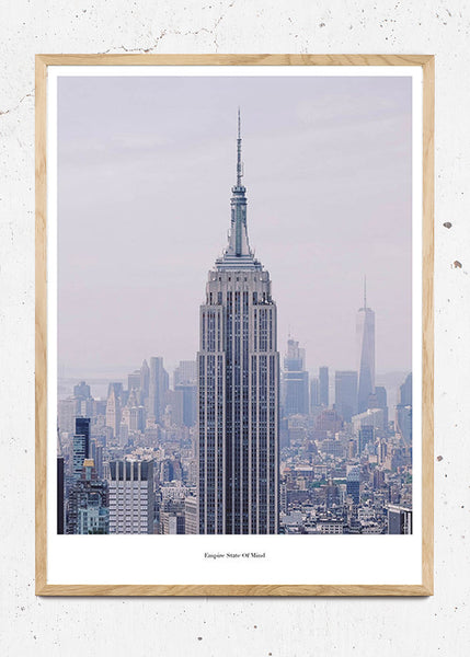 Empire State Of Mind - Beautiful World Plakat fra Beautiful World