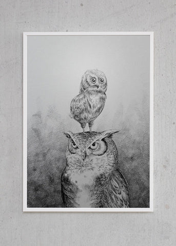 Father & Son (Owls)