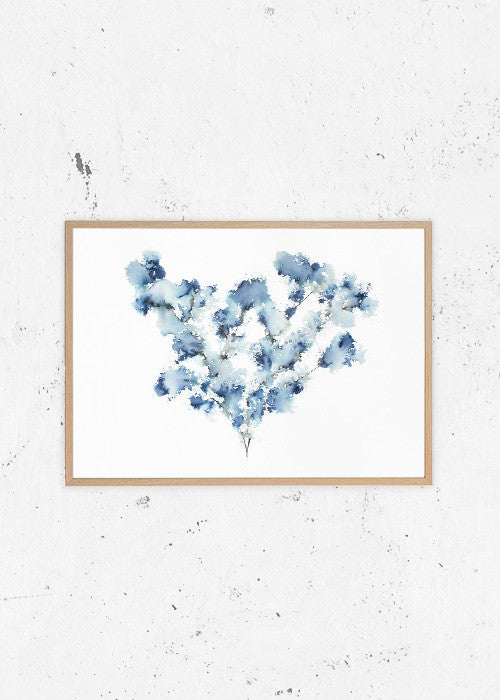 Field Flower Blue fra Trine Holbaek Designs