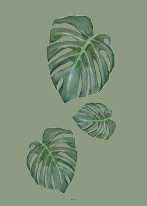 monstera the tree fra Svenningsenmoller Design