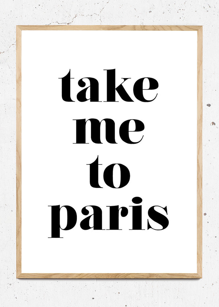 Take me to Paris fra Bentzenberg