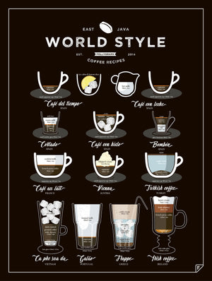 World Style Coffee fra FOLLYGRAPH