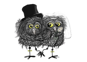 Owl wedding fra Svenningsenmoller Design