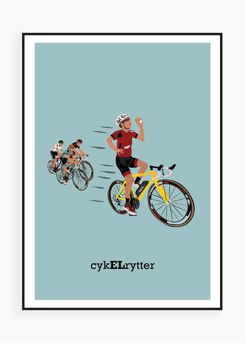 cykELrytter (colorful) fra ceems