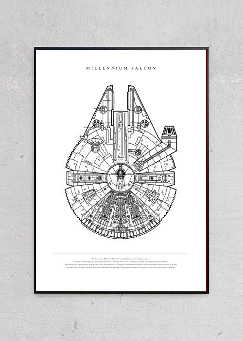 The Millennium Falcon fra Untitled