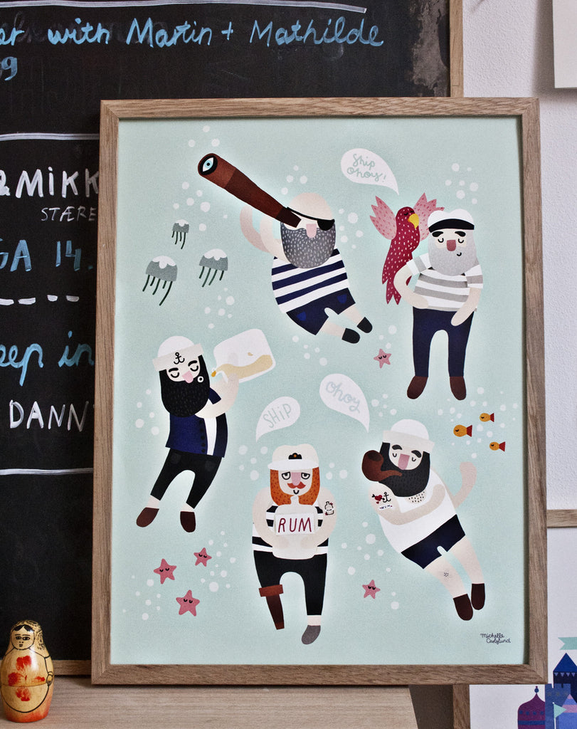 Sailor Friends fra Michelle Carlslund