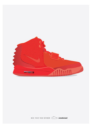 Nike / Red October fra Sneakerart