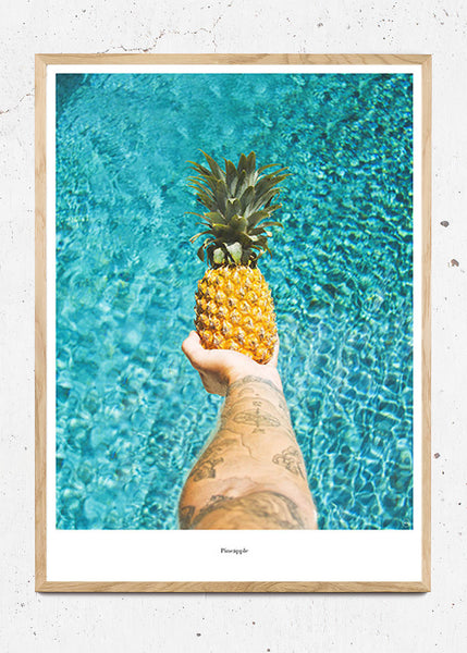 Pineapple - Beautiful World Plakat fra Beautiful World