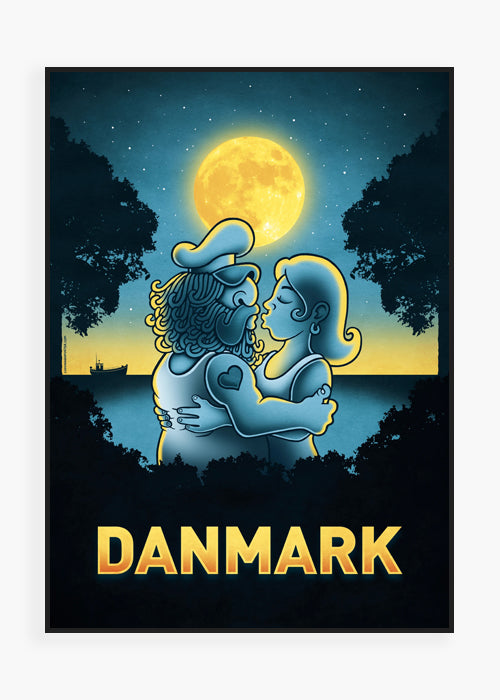Sailor Summer Love fra Copenhagen Poster