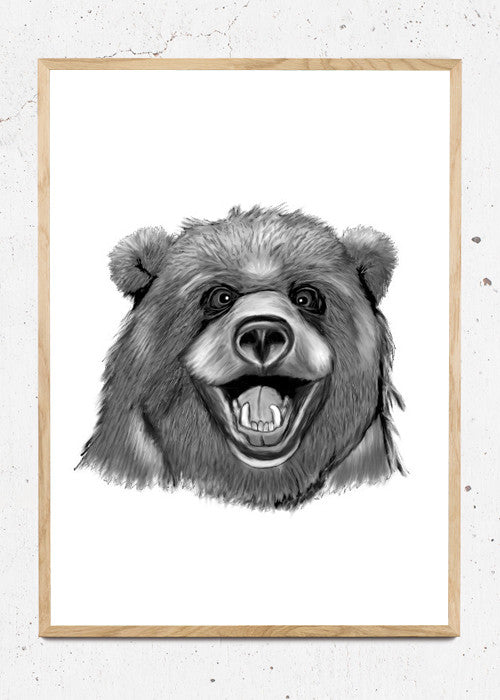 Happy Bear fra Svenningsenmoller Design