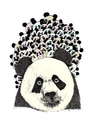 Follow the panda fra Svenningsenmoller Design