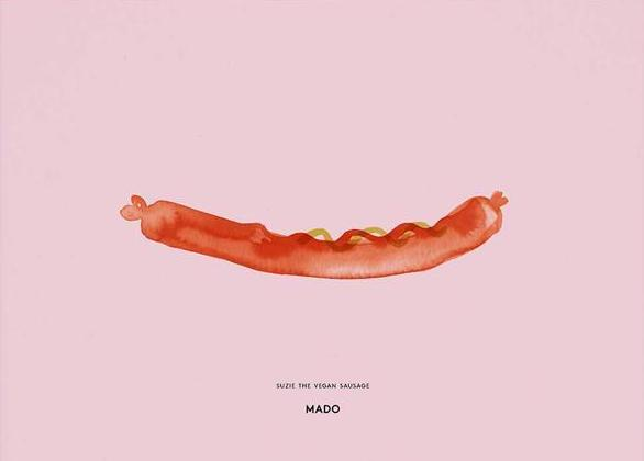 Suzie the Vegan Sausage fra MADO