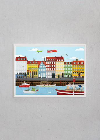 The Nyhavn Poster