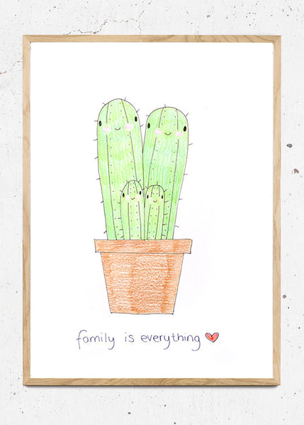 Family Is Everything. fra cacti