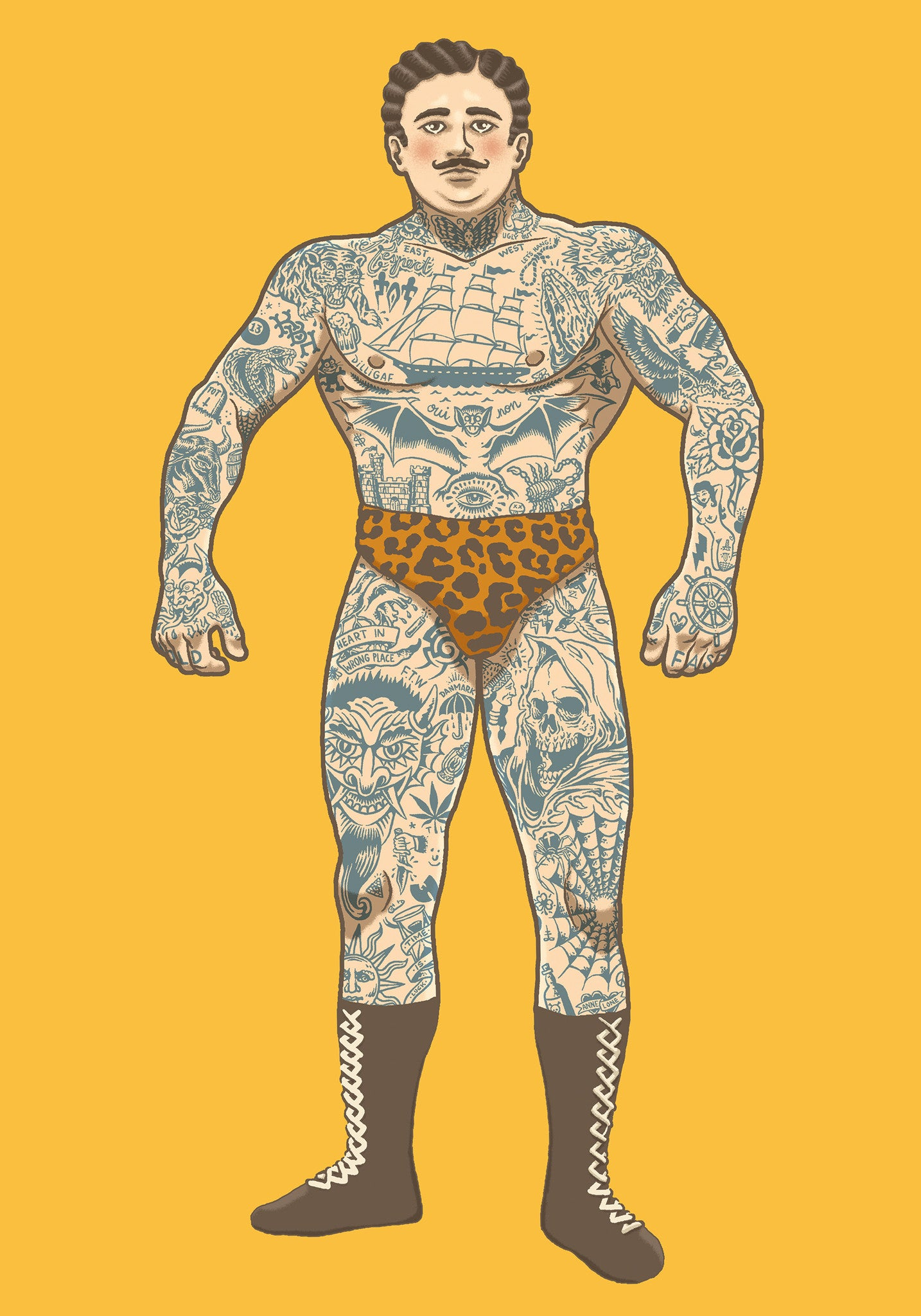 The Tattooed Man fra TOT CPH