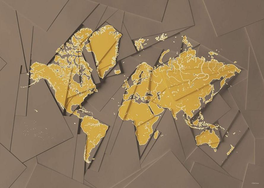 Maps Our World - Brown fra ChiCura