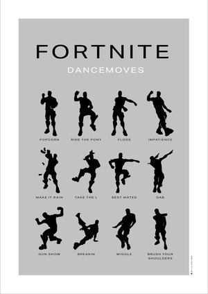 Fornite dancemoves grey fra bylilianlund