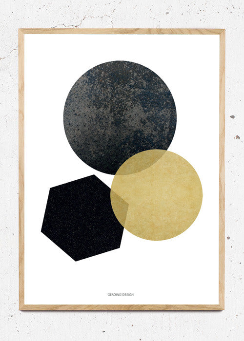 Yellow Circles fra Gerding Design