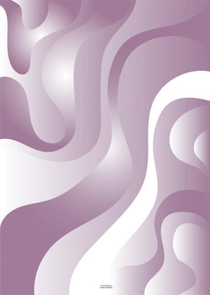 Coloured Waves - Pink fra Nordic Creators