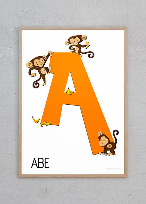 A for Abe fra Rosenaa