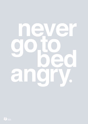 Never Go To Bed Angry - Grey fra By Krohn