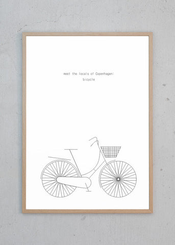 MTLOC: Bicycle - White
