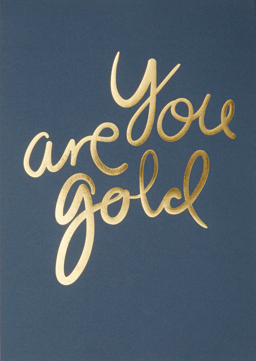 You Are Gold - Cobalt fra I Love My Type