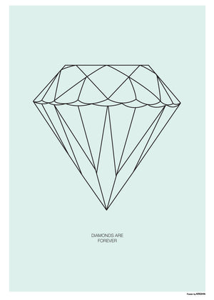 Diamant - Mint fra By Krohn