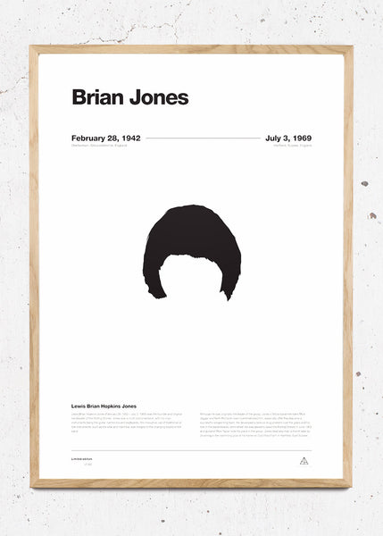 Never Forget - Brian Jones fra Ejvind Arthur