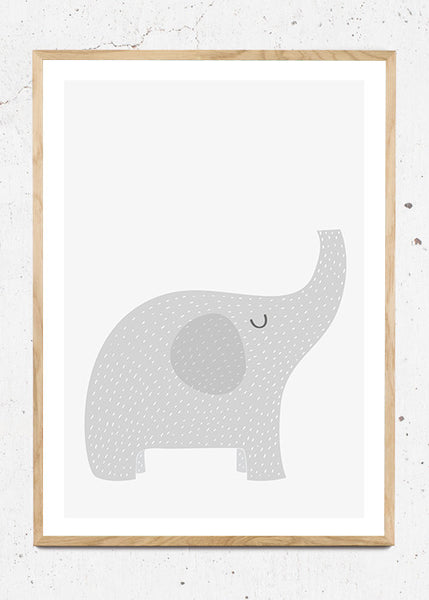 Elephant - Plakat fra Paper Stories