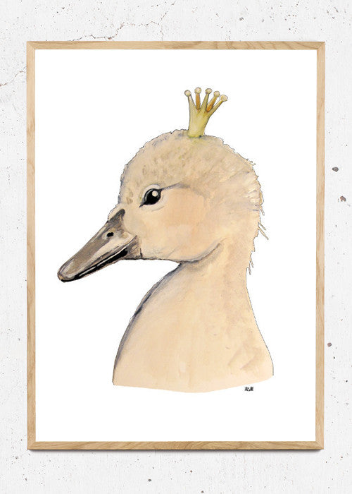 Little Swan king fra Svenningsenmoller Design