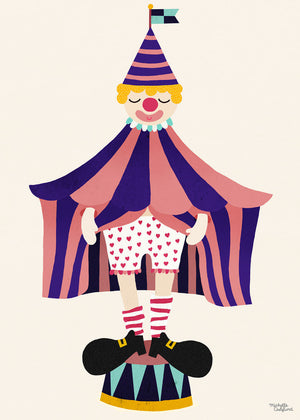 The Clown fra Michelle Carlslund