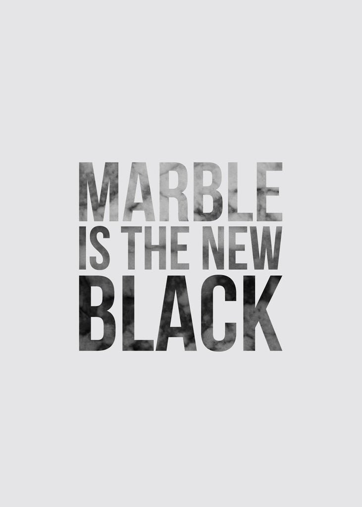 Marble Is The New Black fra LOA