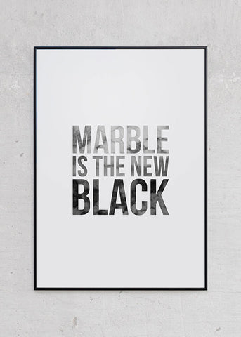 Marble Is The New Black