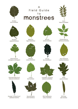 A field guide to Monstrees fra Kay Sales