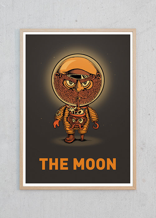 The Moon fra Copenhagen Poster