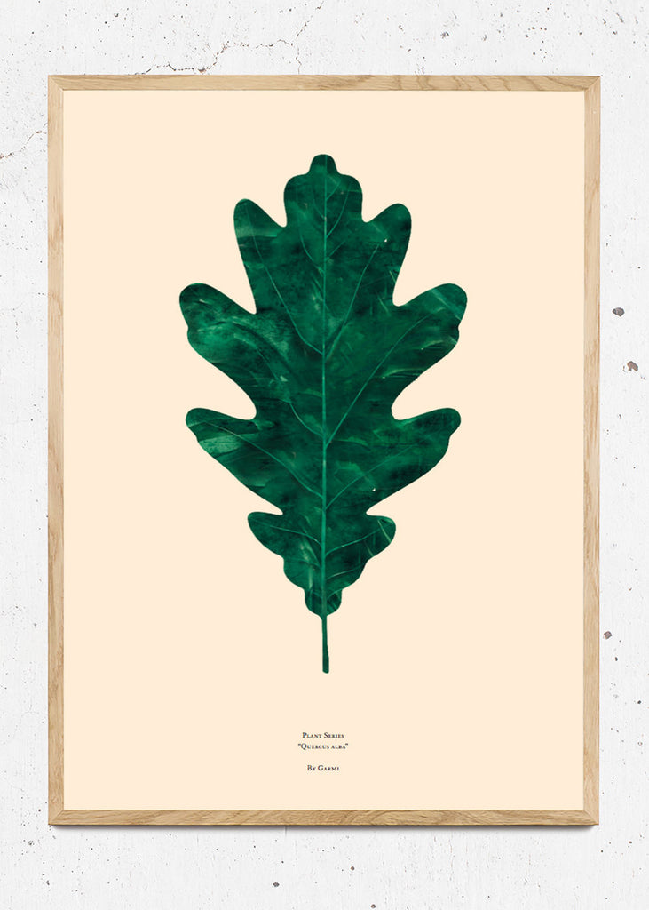 QUERCUS ALBA – OAK LEAF fra By Garmi