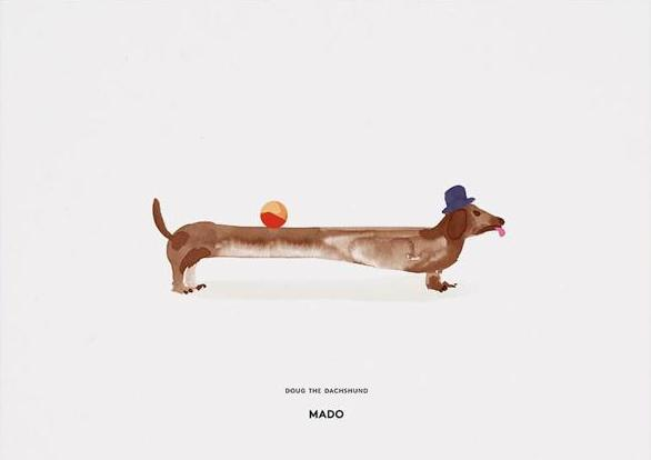 Doug the Dachshund fra MADO