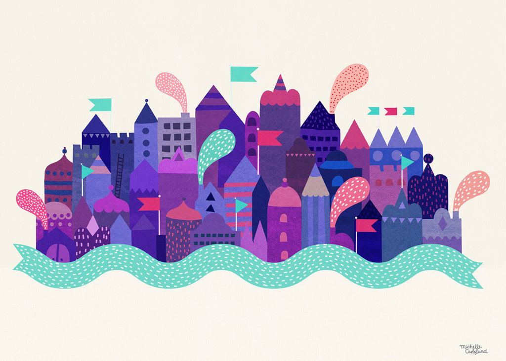 Purple City fra Michelle Carlslund
