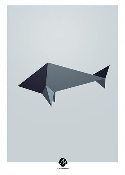Nordic Animals: The Fish fra Michelle Munkholm