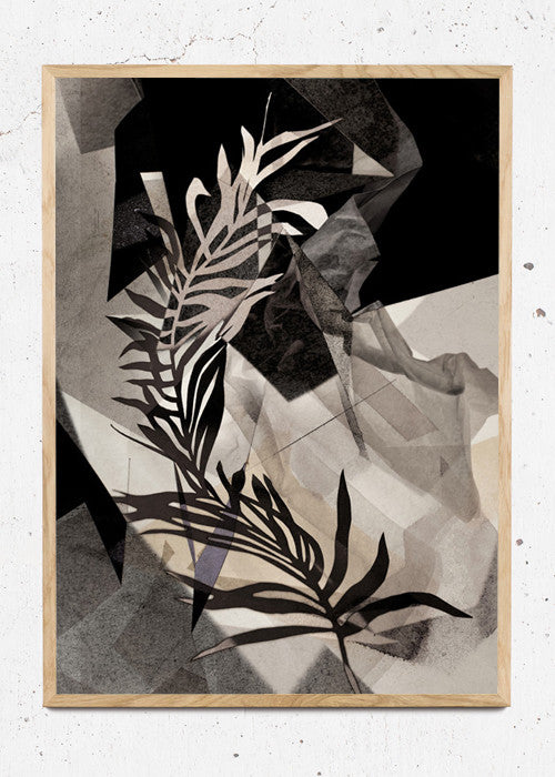 LEAVES no.3 – Palm brown fra Karina Petersen
