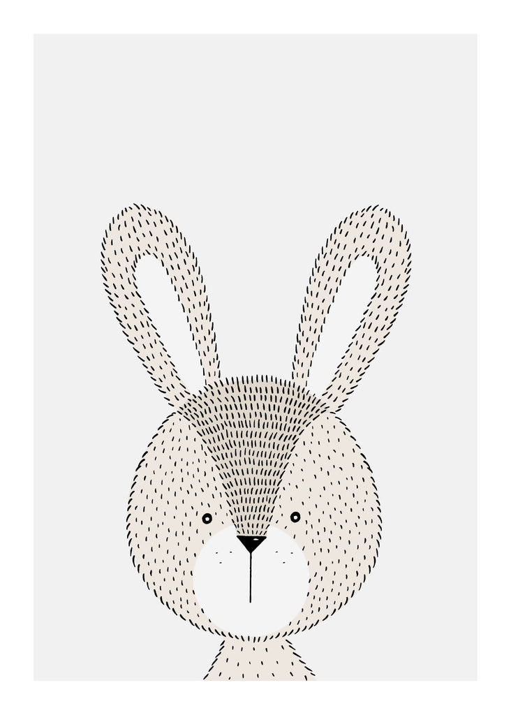 Rabbit - Plakat fra Paper Stories