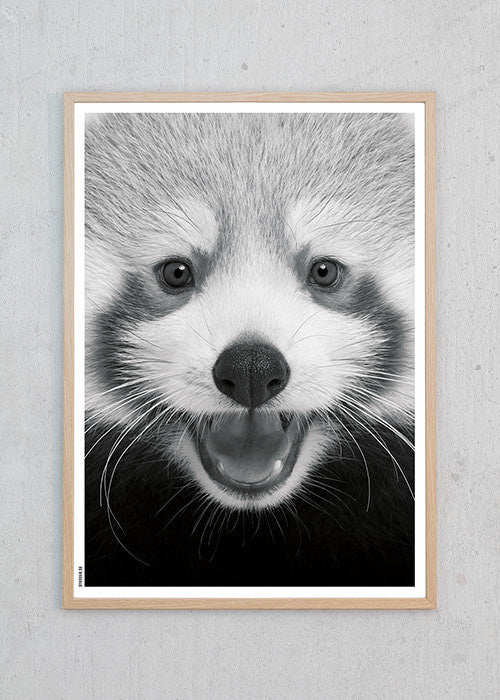Red Baby Panda fra By Krohn