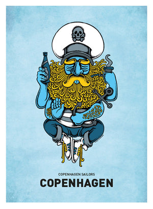 Sailor God fra Copenhagen Poster
