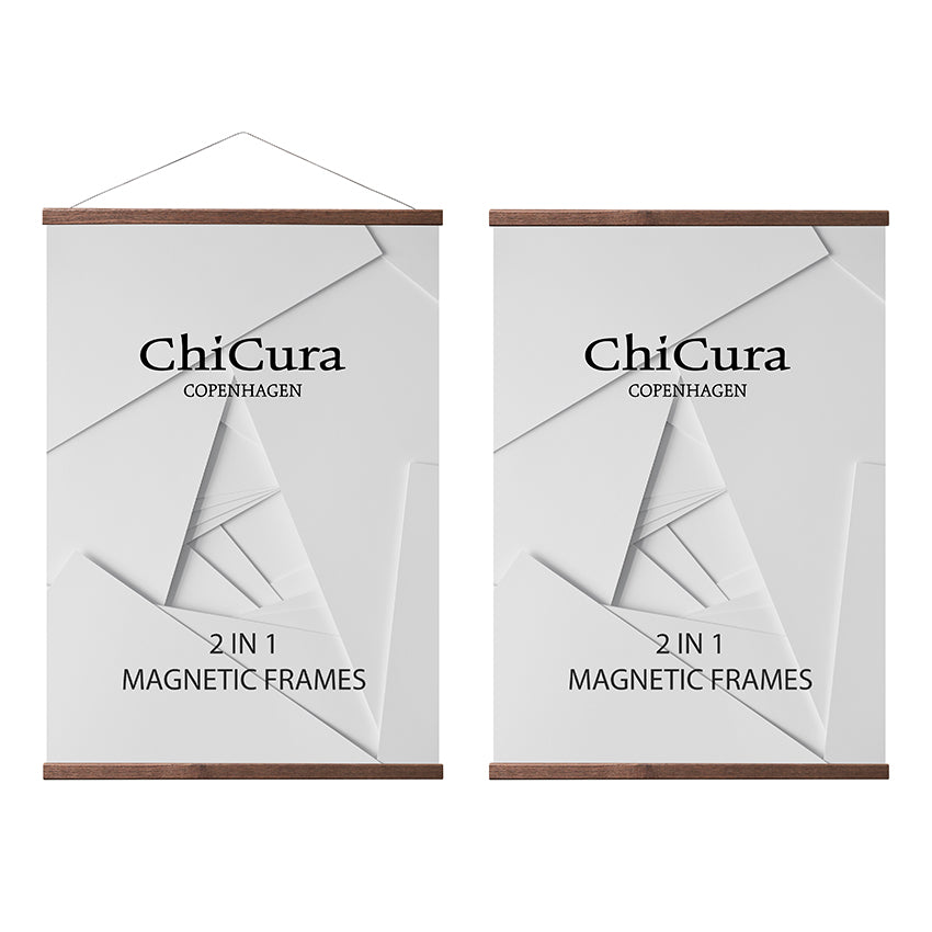 ChiCura 2 i 1 Magnetramme - Ask fra ChiCura