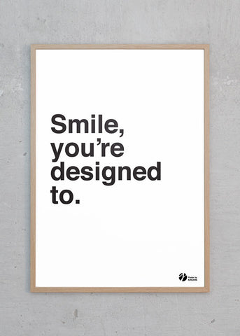 Smile, You're Designed To - S/H
