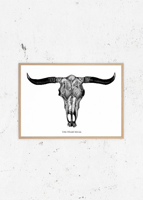 The Steer Skull fra Matilde Olsen